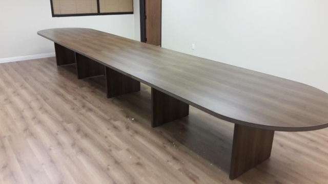 X Conference Table Sits Up To - 18 foot conference table