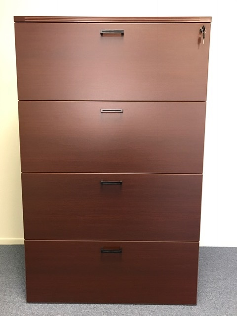 "55""H 4 Drawer Lateral File"