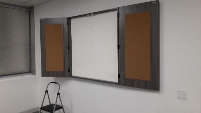 "48""x48"" Visual / Tack Board (once open it is 95""L)"