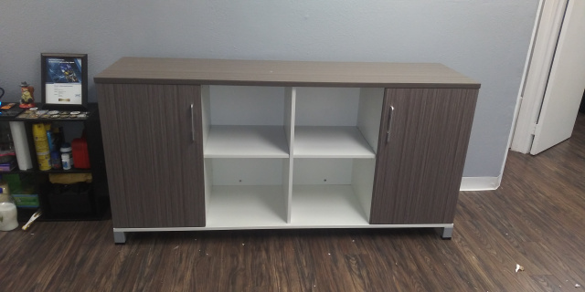 "72""Lx19.5""Dx30""H Simple System Credenza"