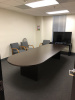 "144""x48"" Race Track Conference Table"