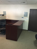 "(each) 72""x72"" Reception L Shape With Rectangular Transaction Top (no drawers)"