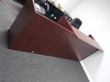 "72"" Rectangular Top Reception Desk Mahogany (2 shown in picture)"