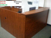 "72""x72"" Reception L Shape With Rounded Top (no drawers)"