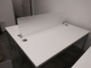 "2x 60""x24"" Simple System Straight Desk (privacy glass sold separate)"