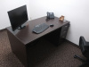 "60""x30"" Straight Desk With 3 Drawer File Unit"