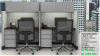 "48""x24"" Workstation With Overhead & 3 Drawer Mobile File Unit (Priced Per Unit)"