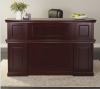 "72""Lx37""Dx45""H High End Townsend Series Reception Desk"