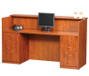 "72""x30"" Reception Desk With 3 Drawer & 2 Drawer File Unit"